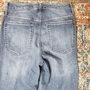 Ella Moss Jeans - Ella Moss High Rise Chevron Two Tone Skinny Jeans